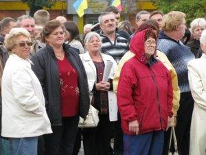 """Фото: Полтавці протестують: """"Погіршення життя людей вже сьогодні"""" (Фото)"""