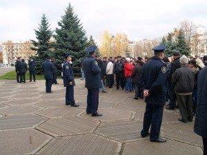 Фото: Бойкот на ринках Полтави до безпорядків не привів
