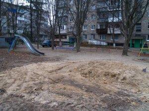 Фото: У Полтаві ремонт зробили, а прибрати забули