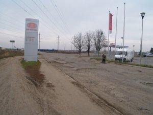 Фото: Полтавський полігон для випробування автомобілів та водіїв