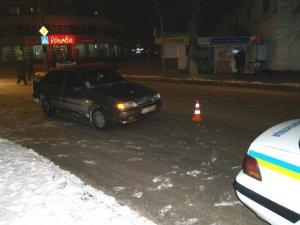 Фото: У Полтаві таксист збив пішохода