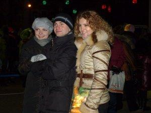 Фото: Полтавці біля головної ялинки відсвяткували Різдво