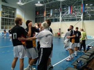 Фото: Гандбол, відбір до чемпіонату світу: Німці тріумфують у Полтаві
