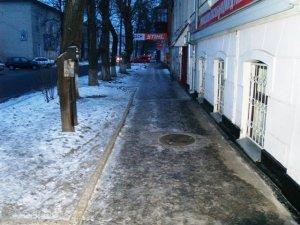Фото: Полтавські ринки вже прибрали від криги та снігу