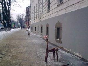 Фото: Полтавців попереджають звичайні стільці