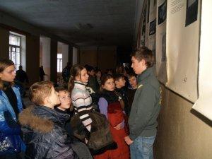 Фото: Полтавські школярі розповіли ровесникам про Голокост