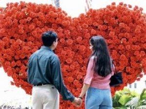 Фото: Полтавці святкують День святого Валентина