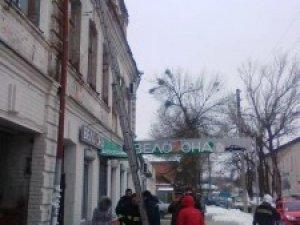 Фото: У Полтаві горів будинок, в якому живе журналіст «Кола»