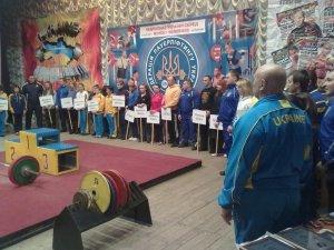 Вперше у Полтаві проходить чемпіонат України з пауерліфтингу