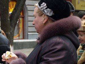 Фото: У центрі Полтави відбулися масові гуляння на честь Масляної