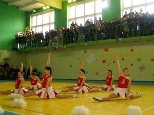 Фото: Факультет філології виборов Кубок ректора ПНПУ із черлідингу