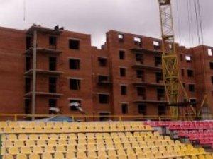 Фото: Керівництво ФК «Полтава» хоче звернутися до суду з приводу будівництва біля стадіону