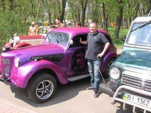 Фото: В Полтаві у вихідні відбудеться виставка ретроавтомобілів та парад байкерів