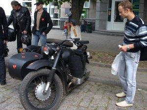 Фото: У Полтаві відбувається парад ретроавтомобілів та мотоциклів