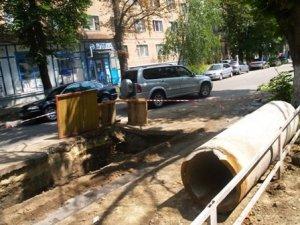 Фото: Будинок у центрі Полтави провалюється під землю