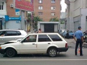 Фото: У центрі Полтави сталося ДТП