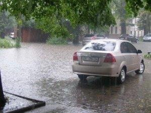 Фото: Полтава знову потопає