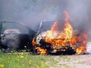 Фото: У полтавки згорів автомобіль