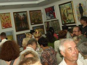 Фото: У Полтаві художниця презентувала свою першу виставку картин