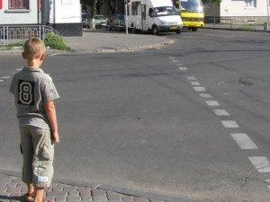 Фото: Полтавська ДАІ перевірить «зебри» поблизу шкіл