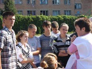 Фото: Полтавські студенти надавали першу медичну допомогу