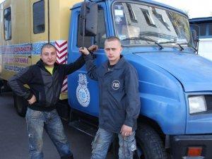 Фото: Як журналіст «Кола» став слюсарем аварійної бригади КП «Полтававодоканал»