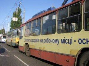 Фото: Завтра, 4 жовтня, у Полтаві по Сінній не їздитимуть тролейбуси