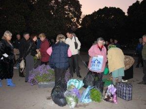 Фото: Міська влада Полтави розганяла продавців на стихійних ринках