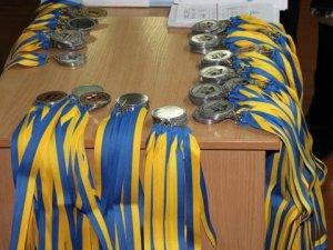 Фото: У Полтаві відзначили учасників спартакіади із художньої гімнастики