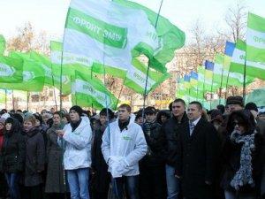 Фото: «Фронт Змін» зібрав більше 30 тисяч підписів полтавців проти Януковича