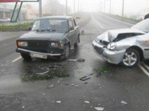 Фото: У Полтаві на одному місці сталося три ДТП