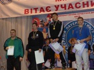 Фото: Полтавські пауерліфтери привезли комплект нагород із чемпіонату України