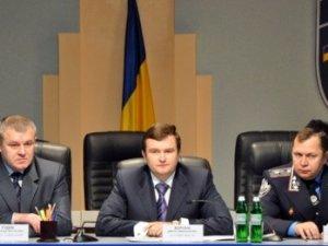 Фото: Сьогодні представили нового очільника міліції Полтавщини Едуарда Федосова