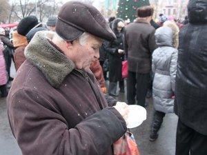Фото: Полтавці ледь не побилися за безкоштовні вареники