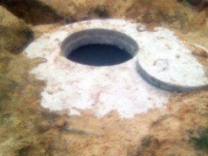Фото: Полтавка впала у вигрібну яму