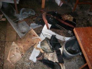 Фото: У Полтаві в поштовому відділенні сталася пожежа: фото