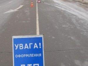 Фото: Під Полтавою зіткнулись два автомобіля: є травмований