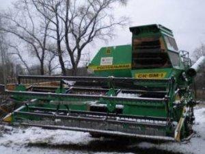 Фото: Міська рада Полтави списала з балансу зерноприбиральний комбайн