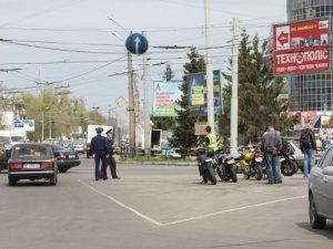 Фото: У Полтаві байкери провели акцію на площі Зигіна