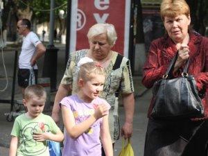 Фото: Сьогодні в центрі Полтави майже всі перехожі ходили з сердечками