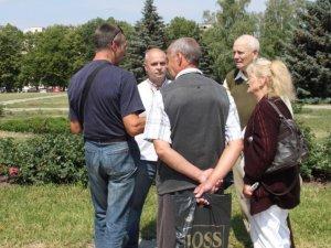 Фото: Як у Полтаві захищали українську мову: фоторепортаж