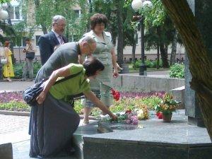 Фото: Сьогодні у Полтаву на вшанування Пушкіна приїхав прапраправнук поета