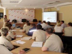 Фото: У Полтаві збирались на нараду всі екстрені служби поговорити про 112