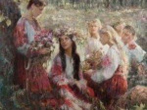 Фото: Дівчатам на щастя слід сплети віночок із квітів берізки
