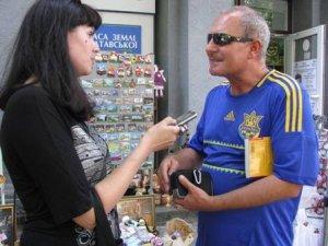 Фото: Полтаву відвідав шведський журналіст-ревізор
