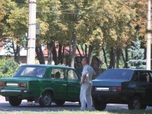 Фото: У Полтаві зіткнулись три легковики (фото)