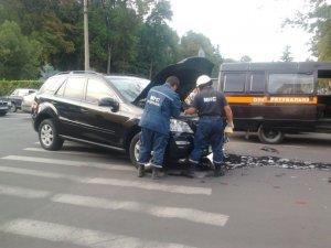 Фото: ДТП у центрі Полтави: офіційні коментарі ДАІ