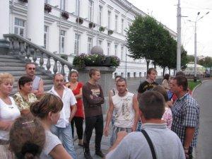 Фото: Долю полтавських мітингувальників вирішуватимуть сьогодні в мерії