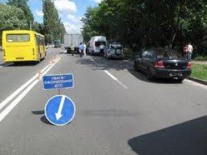 Фото: ДТП у Полтаві: легковик збив школяра