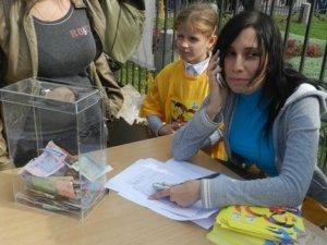 Фото: Полтавці під час пробігу назбирали 11 011 гривень дітям з захворюваннями серця